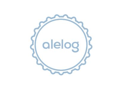 Very early days alelog logo