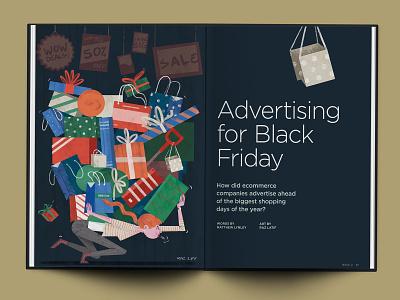 Illustration for Brex Quarterly Review woman illustration sale black friday startup editorial pastel texture digital photoshop design illustration mixed media art