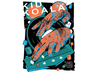 Kid Koala: Carpal Tunnel Syndrome Poster