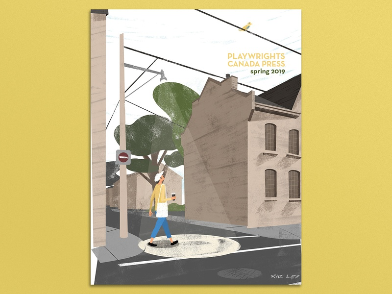 Playwright Canada Press: Spring 2019 cover