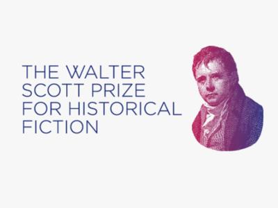Walter Scott Prize display design design exhibition design for print print design logo design branding