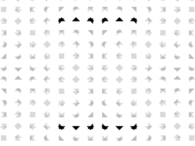 Triangles triangles shapes visual perception pattern