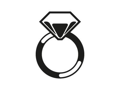 Diamond Ring Icon icon diamond ring