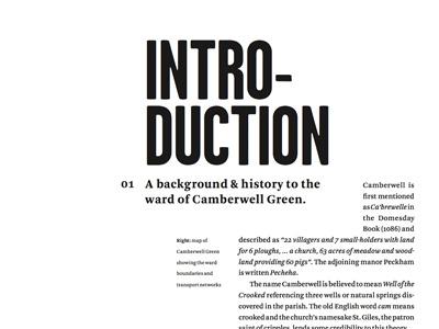 Typographic layout typography book design arnhem garage gothic print