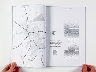 Dummy Spread map typography book design print