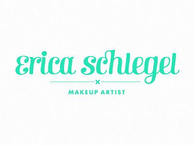 Es Branding Dribbble branding logo identity makeup artist