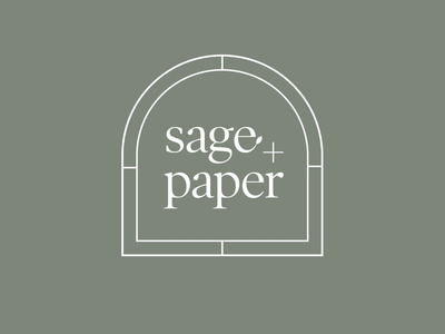 Sage and Paper Logo Design