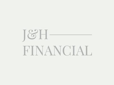 J & H Financial Logo Design