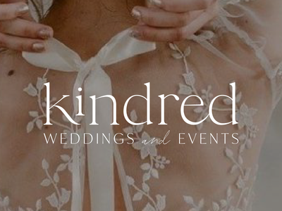 Kindred Weddings And Events Logo Design