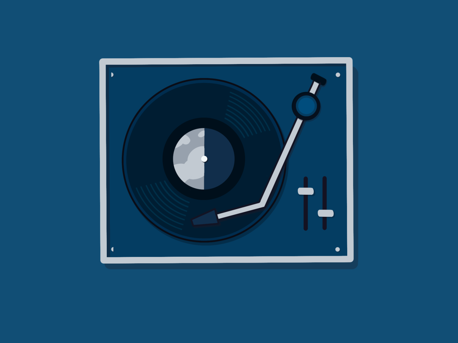 Vinyl Illustration
