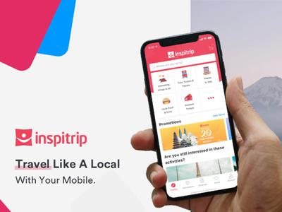 Inspitrip - Travel Services Marketplace App tours booking marketplace mobile app services travel vietnam