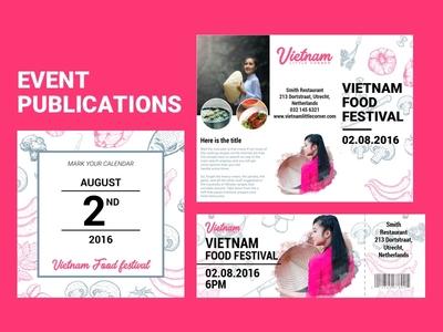 Event Pulications explore festival event springrolls pho landing food vietnam