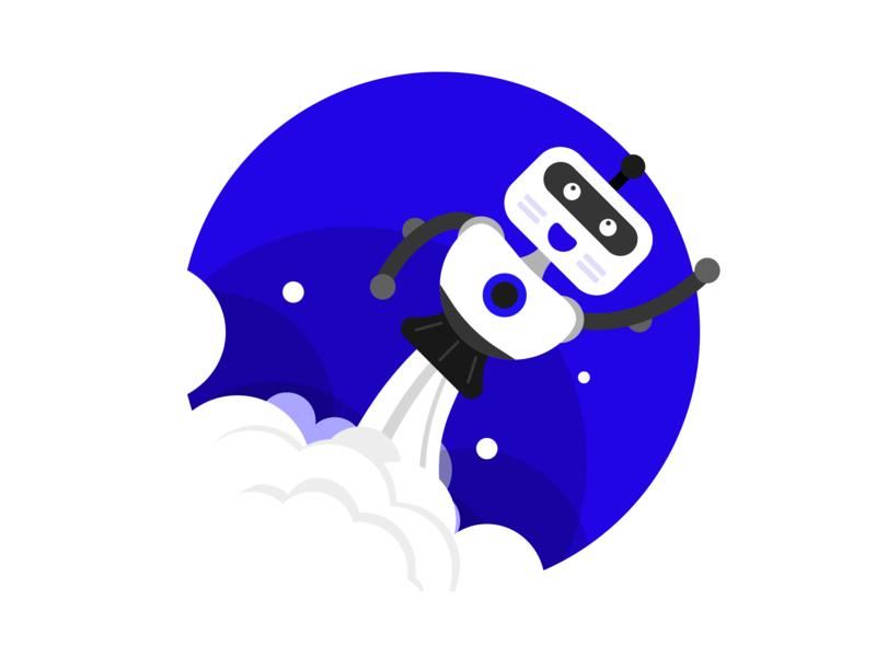 Chat-bot chat bot drawing web vector minimalism illustrator illustration design art adobe
