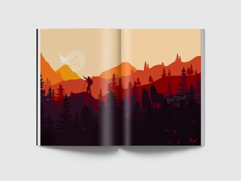 Designer path print drawing vector minimalism illustrator illustration design art adobe