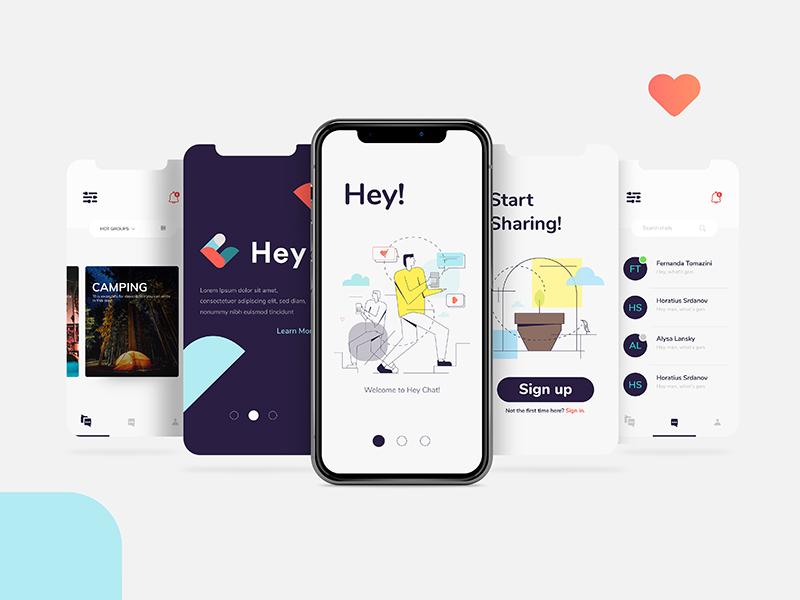 Messenger App. smart dashboard chat bot app messenger uidesign userinterface uxdesign graphic ui ux
