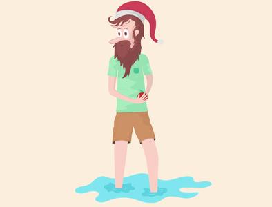 Where did santa go? design illustrator illustration character illustration characterdesign character