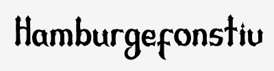 A new font I am working on