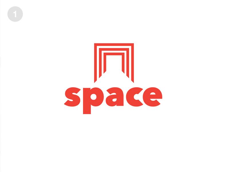Dribbble space logo mockup  0000 2