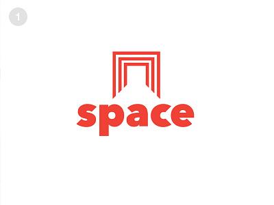 Space Logo #ThirtyLogos hallway door abstract modern office space thirty logos