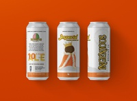 Ingenious Brewing Can Label Imperial Peanut Butter Cup