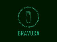 Bravura logotype