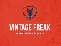 Vintage Freak - logotype