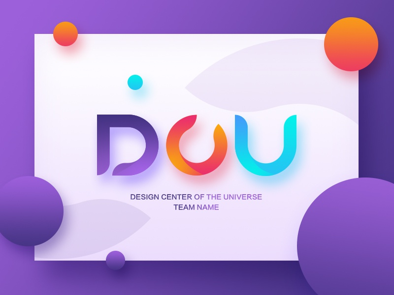 Team Name by MORED for DCU on Dribbble