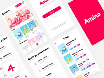 Amino  App  Redesign concise lightweight 11 ios redesign app amino