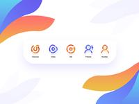 网易云Music app bar icon Redesign
