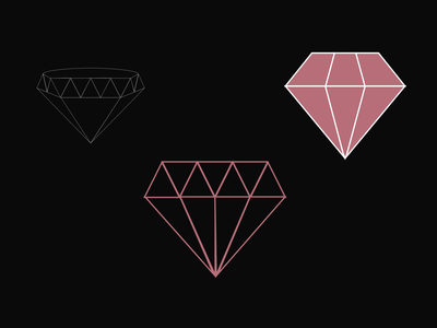 Playing with Vectors vector diamond 100daysofcmbos 100daysproject 100daysofillustration