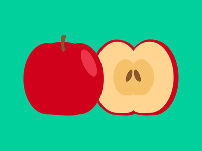 Apples All Day apple 100daysofcmbos illustration creativemornings 100daysproject 100daysofillustration