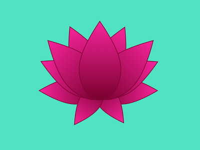 Lotus lotus flower lotus illustration 100daysofcmbos 100daysproject 100daysofillustration