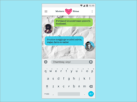 DailyUI #013 Direct Messaging