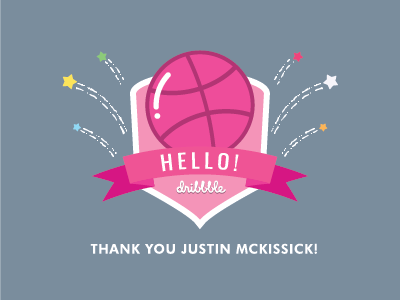 First Shot dribbble hello