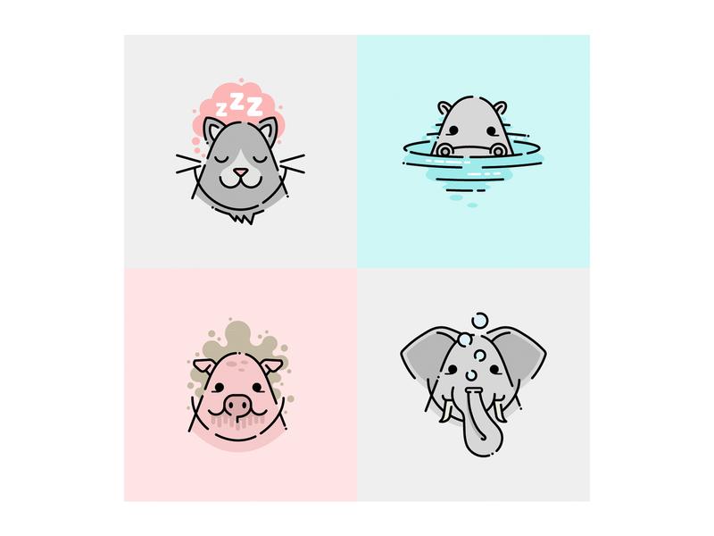 Little Animals – Sticker Pack