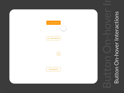 Button on hover microinteraction product design webdesign on hover interaction design adobexd ux design