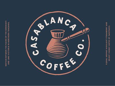 Casablanca Coffee Co. logo