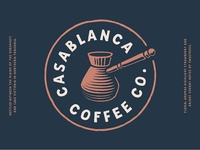 Casablanca Coffee Co. logo