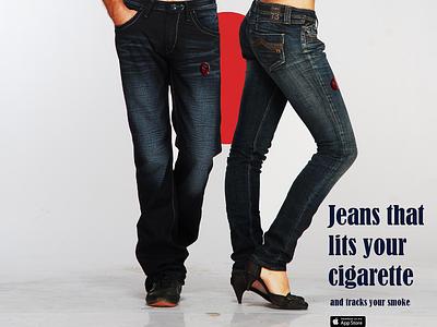 Werable Technology Design  - Jeans that heats your cigartte arduino creative technology e cigagrette iqos cigarette marlboro product design design iot internet of things wearabletech wearable