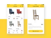 Furniture E-commerce App Exploration