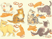 Cat Pretzels