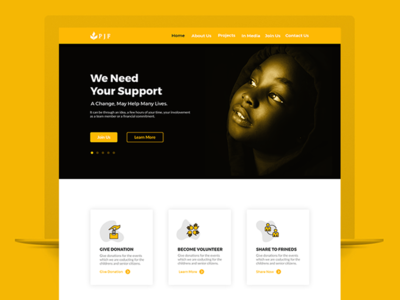 NGO (PJF) Website Design