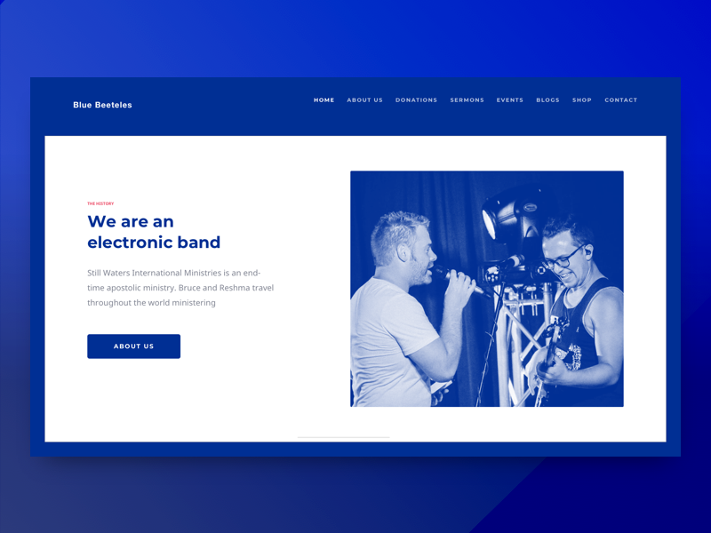 About Us about website web about us dribbble debut minimal clean card band design animation