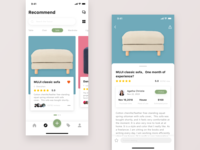 Minimalist, shared and loved home sharing app
