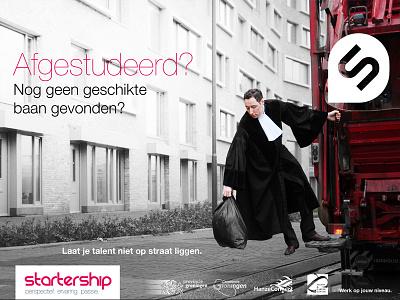 Startership campaign campaign advertising branding print