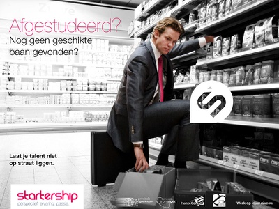 Startership2 campaign advertising branding print