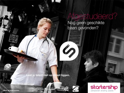 Startership3 campaign advertising branding print