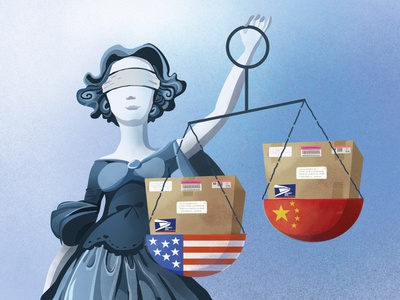 US threat to cancel postal treaty with China