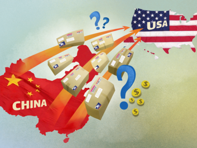 Illustration for US threat to cancel postal treaty with China