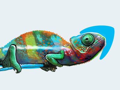 Amazon Prime chameleon